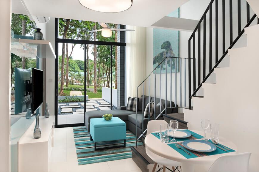 Cassia Bintan Package_One Bedroom Loft - Living Room